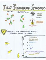 16-Field Performance Standards