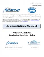 NASBLA Basic Boating Knowledge – Sail