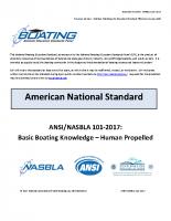 NASBLA Basic Boating Knowledge – Human Propelled