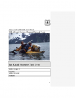 Forest Service 2012 Kayak Policy and Task Book