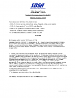 2014 SBSA Meeting Agenda