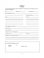 Appendix 2 – Float Plan Template