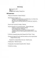 2007 SBSA Meeting Agenda