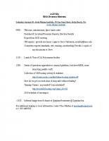 2010 SBSA Meeting Agenda